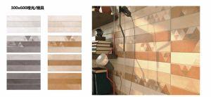 3D-Inkjet Glazed Interior Ceramic Wall Tile voor Woonkamer (CP307)