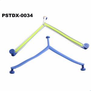 3 цвета в форме ПВХ ремешок для Flip флоп опорной части юбки поршня