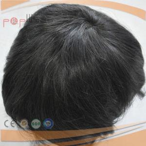 完全なレースの不足分の人間の毛髪のかつら(PPG-l-01313)