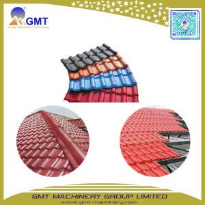 PVC+PMMA/ASA kleurde de Verglaasde Lopende band van de Tegel van de Rand van het Dak
