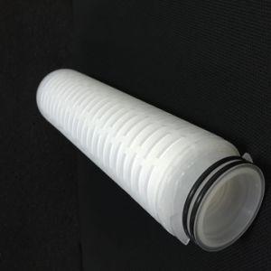 0.1ミクロンPPのガラス繊維水処理のための膜によってプリーツをつけられる水ろ過材
