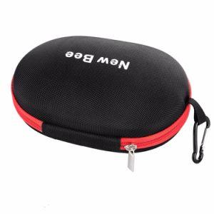 EVA caso auriculares auriculares portátiles de almacenamiento de la bolsa de auricular de alta calidad Accesorios Caja de cremallera
