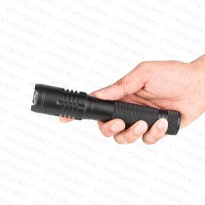 USB zoom 10W XML CREE-U2 LED Lanterna Recarregável com banco de Potência