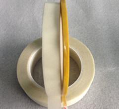 De tweezijdige Gele Band van het Silicone van de Stof van het Glas