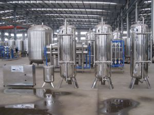 lopende band van de Behandeling van het Drinkwater 2018 55t/H de Volledige