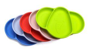 De Vrije Milieuvriendelijke Opnieuw te gebruiken Sterke Olifant Placemat van het Silicone van de Baby van de Zuiging BPA