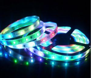 LED de alimentación de 5050 luces suaves, lámpara de punto de control digital, 32 de la barra de luz de la Sinfonía TM1803IC