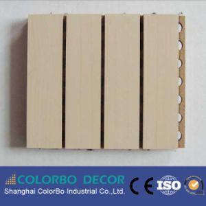 Rapidement renouvelable de l'acoustique de bois Panneaux muraux en bois