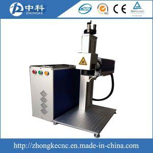 De Laser die van de vezel Machine 10W 20W 30W 50W Maximum Raycus die Ipg merkt op het Plastiek van het Metaal merkt