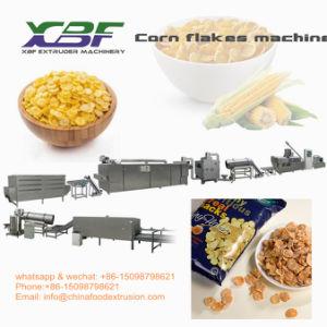 Original y con sabor a cereales de desayuno copos de maíz máquina extrusora