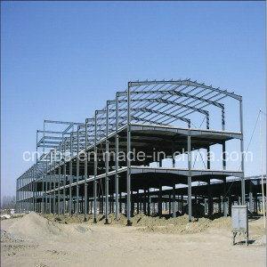 Estructura de acero de la luz de la Construcción de metal