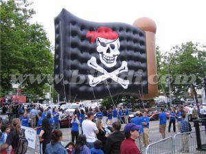 Sale/Pirate Flag Heliumの気球のためのPVC Material Sky Dancer Balloon/Advertizing Helium Balloon