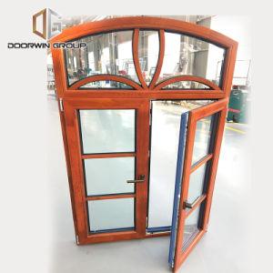 Buona qualità Windows rotondo mezzo di alluminio, finestra della stoffa per tendine dell'arco
