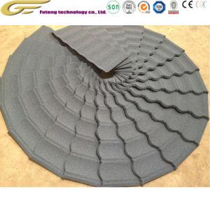 Matériau de construction de toiture en acier galvanisé Stone tuile couché