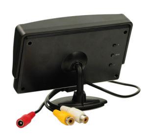 4,3-дюймовый ЖК-Заднее сиденье автомобиля проверка CCTV монитор с AV