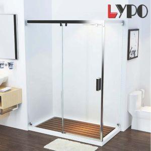 Deslizando sin cerco Receptáculo de ducha Sanitarios baño de cristal templado que712