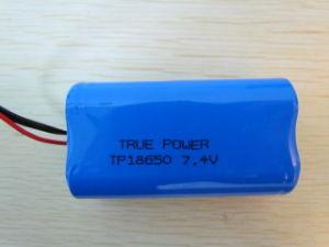 Li 이온 건전지는 3.7V 4400mAh 18650 태양 가벼운 건전지를 포장한다