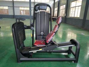 Strumentazione dell'interno di esercitazione del piedino di forma fisica orizzontale della pressa utilizzata per ginnastica