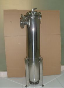 Alojamento do filtro de cartucho sanitárias ss