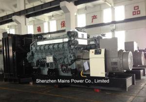 1800KW 2250kVA Groupe électrogène diesel de secours de Mitsubishi 2000KW 2500kVA