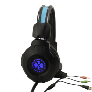 De StereoRand van de laagste Prijs 3.5mm+USB - de correcte Hoofdtelefoon van het Gokken