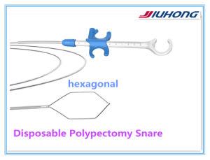 セリウムISO ApprovedのJiuhong Single Use Disposable Polypectomy Snares