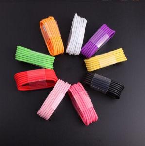 Buntes 8 Pin-Blitz-Kabel für iPhone 6 6s plus USB-Daten-Aufladeeinheits-Energien-Kabel-Netzkabel 1m/2m/3m