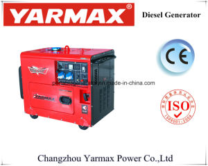Бесшумный Тип Air-Cooled дизельного генератора (2/3/5/6КВТ)