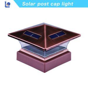 良質塀のための太陽LEDのポストの帽子ライト
