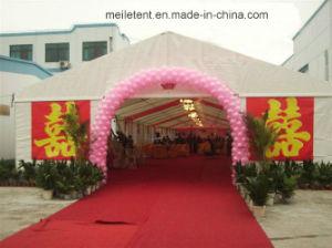 Camera esterna romantica della tenda di cerimonia nuziale della tela di canapa del PVC