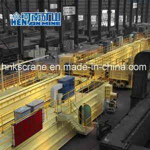 頑丈なスチール製造の研修会の鋳物場のひしゃくのためのオーバーヘッド鋳造クレーン