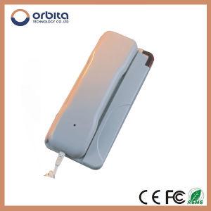 2015 de Nieuwe Populaire Geribde Telefoon van het Hotel van de Prijs van de Fabriek Orbita