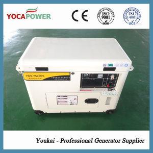 5kVA Monofásico potência arrefecidas a ar silencioso conjunto gerador a diesel