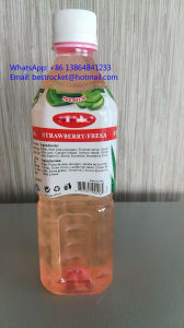 Saveurs fraise de boissons gazeuses