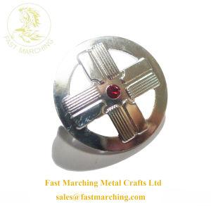 Promotion personnalisée matériau magnétique de l'étain bouton insigne Audi