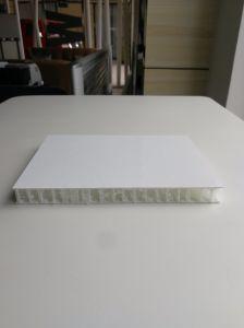 Met een laag bedekt met de Houten Vloer van de Raad van de Sandwich Cfrt van de Omslag van de Korrel Thermoplastische