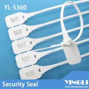 Sellos plásticos evidentes del pisón de la seguridad (YL-S360)