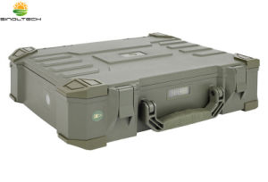IP65 wasserdichter beweglicher Solargenerator des Entwurfs-20W mit aufgebaut in der Lithium-Batterie (SN-BX-020)