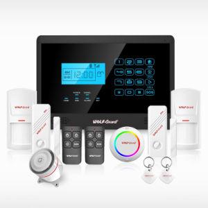 Sistema di allarme di obbligazione/allarme intelligenti senza fili di tremito con il rivelatore di perdita dell'acqua