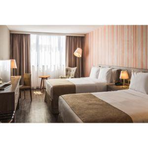 современный отель с одной спальней и мебель с деревянной мебелью из