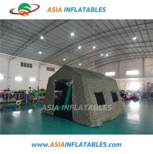 高品質の屋外の膨脹可能な緊急のテント、膨脹可能な医学のテント、医学の病院のテント