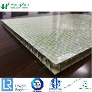 Painel de favo de fibra de vidro com núcleo de PP para painel de parede