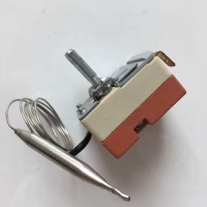 ノブが付いている50-300degrees調節可能な毛管サーモスタットは電気オーブンに適用した