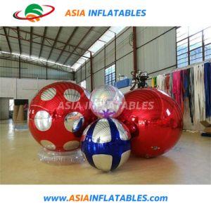 De opblaasbare Gebieden van het Roestvrij staal voor de Adverterende/Opblaasbare Rode Ballon van de Spiegel