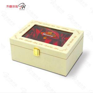 Caixa de mel Luxo High-End personalizados com bloqueio de ferro