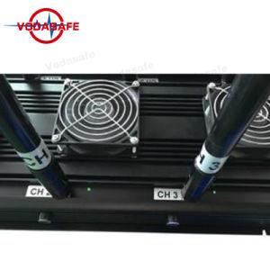 Alto potere Systemer di blocco radiofonico, Uav-Nuovo ronzio con buon raffreddando l'emittente di disturbo per 3G, 4G cellulare astuto, Wi-Fi, Bluetooth, potere 130W di Systemcellphone dell'uscita