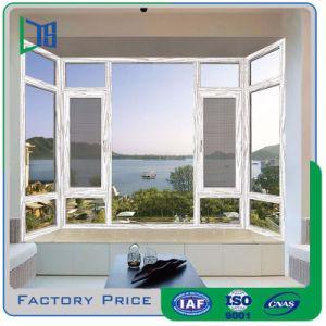 Proveedor de China de 2017, Casement Ventana aluminio ventana arqueada Casement