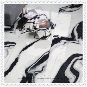 Polis ou perfectionné Panda carrelage de marbre blanc de sol et mur