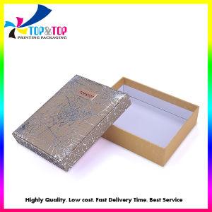Recubierto de plegado de mejor venta de cuidado de piel caja de embalaje con corte por láser