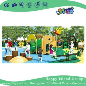 Parque de diversões em forma de caracol equipamentos de playground para venda (HJ-15504)